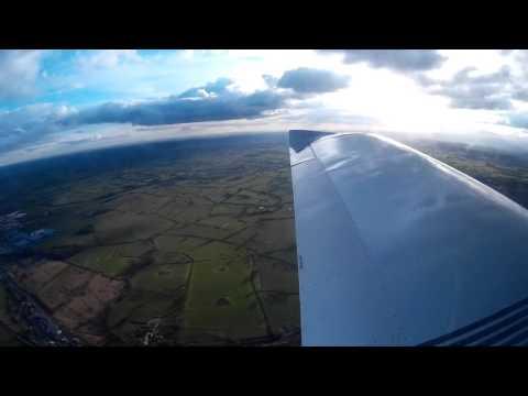 Timelapse Tour of North Staffordshire - EV97 Navigation Flight [1080P]