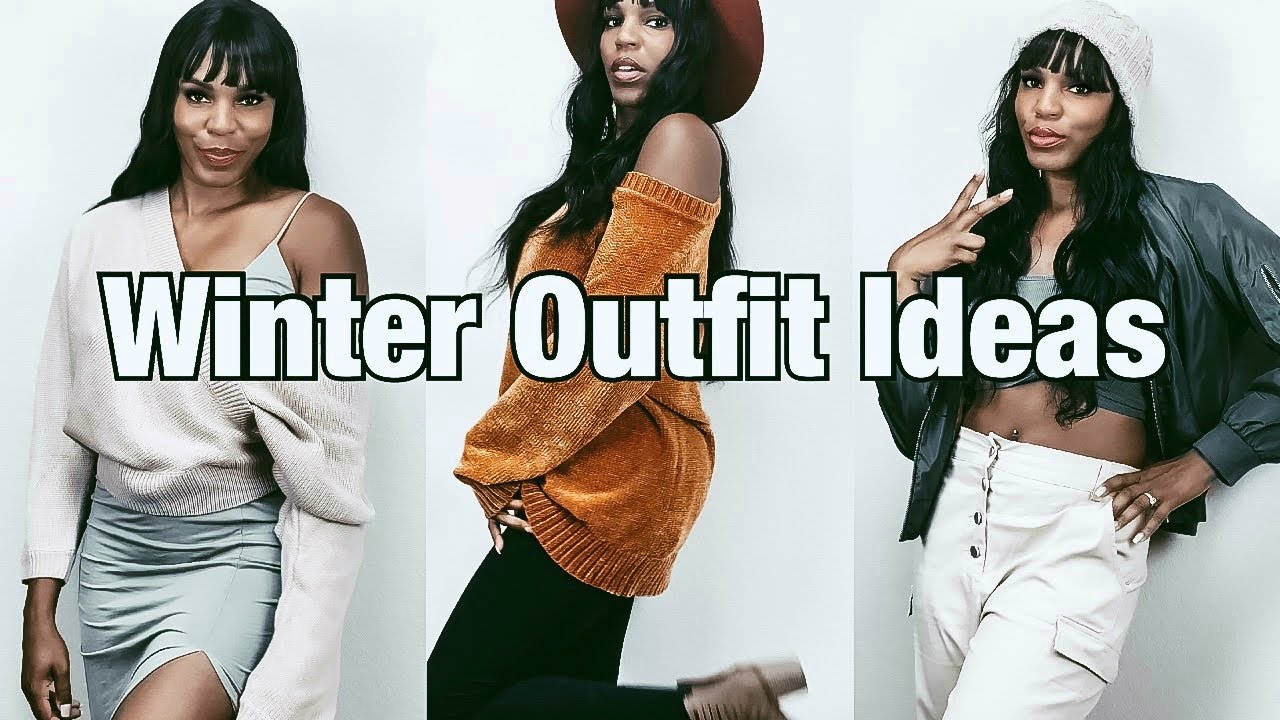 [VIDEO] - Winter Outfit Ideas 2019 | cozy & chic 7