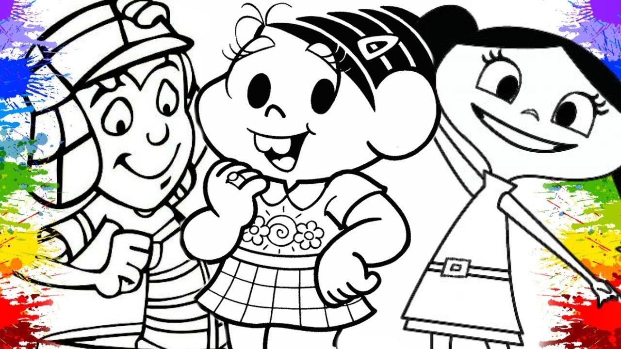 Desenho Da Turma Da Monica Show Da Luna Turma Do Chaves Infantil