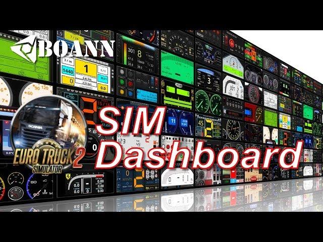 Euro Truck Simulator 2: simDasboard (Dutch)