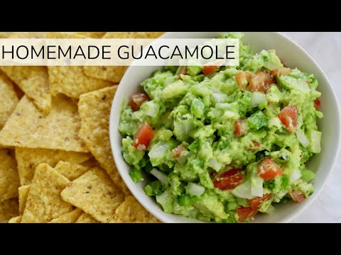 HOW-TO MAKE HOMEMADE GUACAMOLE | easy guacamole recipe