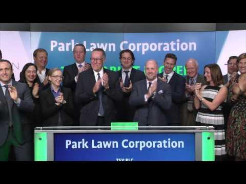 Park Lawn Corporation opens Toronto Stock Exchange, October 19, 2016