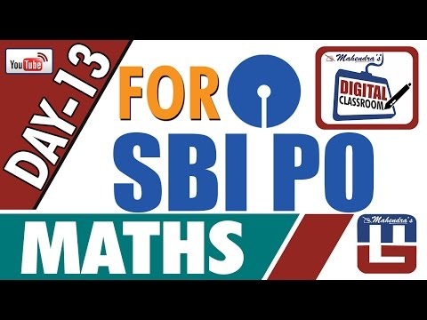 PROFIT AND LOSS | MATHS | DAY - 13 | DIGITAL CLASS | SBI PO 2017 |
