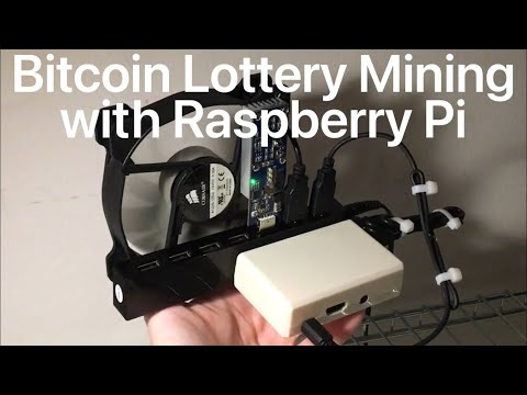 Bitcoin Lottery Mining With Raspberry Pi (2021)