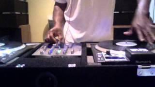 DJ Golden Arms scratching over Blackstreet Good Lovin