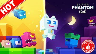 Super Phantom Cat - Unlocked NEW Moon World! (ArcadeGo Recommended)