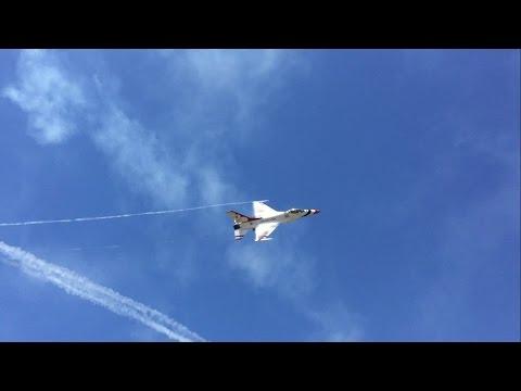 Thunderbirds Sneak Pass Pensacola NAS