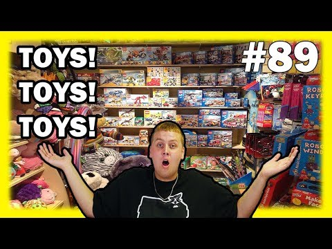 Barnes And Noble Dumpster Dive Toy GOLD MINE! Night 89