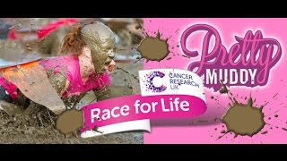 Pretty Muddy  Race For Life Prestwold Hall 17th May 2015