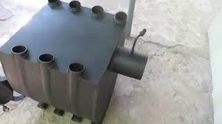 Печь булерьян с варочной поверхностью видео обзор