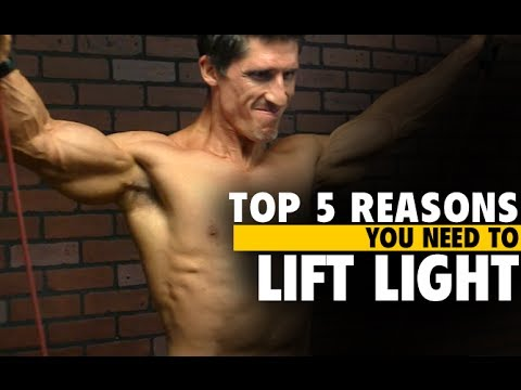4 Reasons You Need To Lift Light Weights