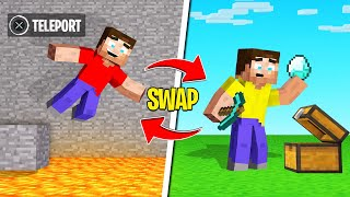 You JUMP = You SWAP POSITIONS (Minecraft)