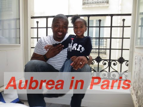 International Travel with Toddler| Aubrea Sanaa in Paris