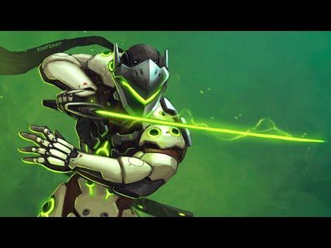 Overwatch - Craziest Genji Deflect Plays