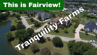 Tranquility Farms, Fairview Texas Aerial Tour
