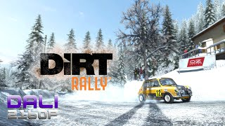 DiRT Rally | Monte Carlo | Snow | PC 4K Gameplay 2160p