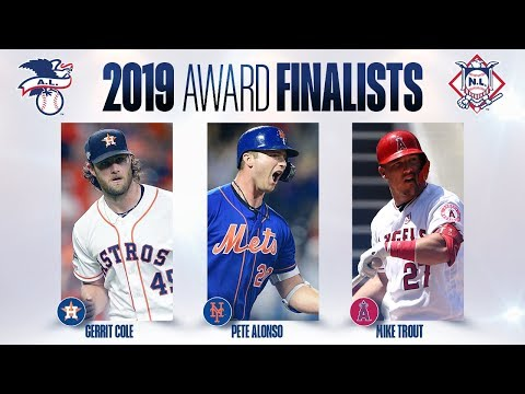 2019 MLB Award Finalists (Mike Trout, Christian Yelich, Cody Bellinger and others!)