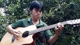 Hoa tím người xưa -  guitar solo fingerstyle - Như Quỳnh
