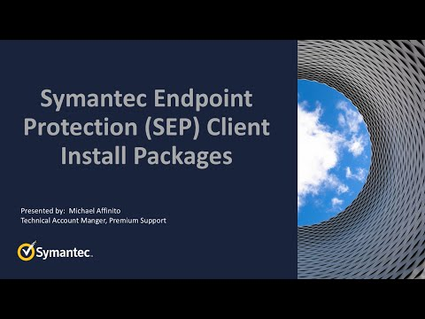 SEP Client Install Packages