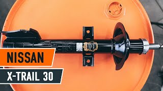 NISSAN X-TRAIL (T30) Csapágy Tengelytest beszerelése: ingyenes videó