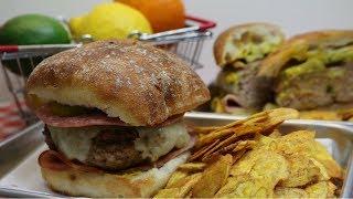 Tampa Style Cubano Burger ~ Cubano Sandwich Inspired Burger ~ Noreen's Kitchen