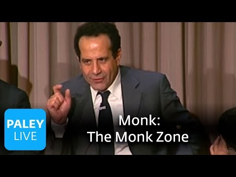 Monk - Tony Shaloub On Objectivity in the Monk Zone