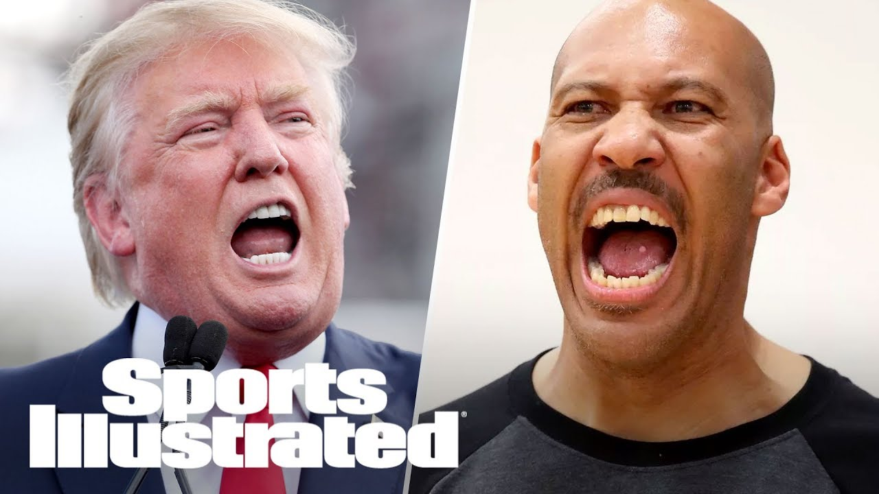 Trump V Lavar >> Donald Trump Vs. LaVar Ball: How Will NBA React To This Unlikely Feud? | SI NOW | Sports ...