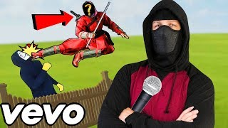 """""""HOW TO BE A NINJA!"""" (ANTI-HACKER MUSIC VIDEO) PROJECT ZORGO SONG CHAD WILD CLAY CWC VY QWAINT PZ9"""