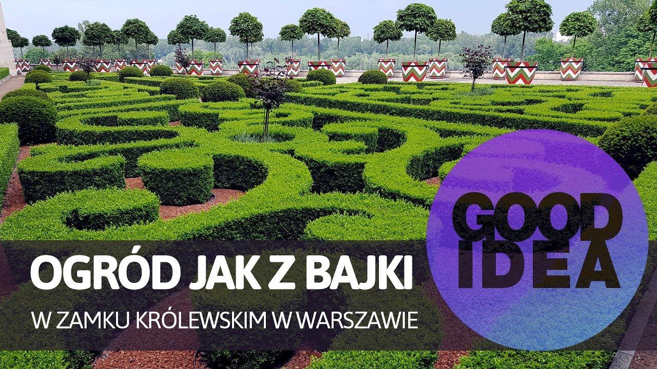 Zobacz ogród jak z bajki w sercu Warszawy | GOOD IDEA