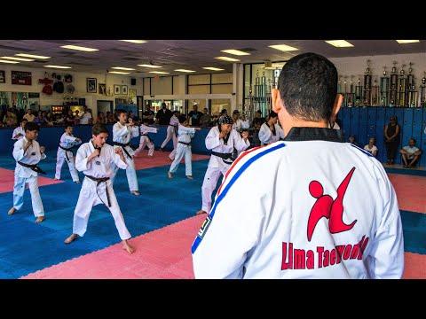 TaeKwonDO Board Breaking at Lima Academy Torrance CA
