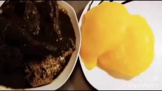 How to make starch (USI)Nigeria/ EDO/DELTA food