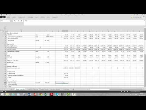 Basic Project Finance Exercise