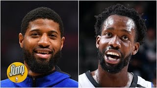 Paul George's uncalled travel was so egregious, PatBev called him out on Twitter | The Jump