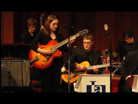 Alicia Marie performs with the Univ. of Michigan Jazz Ensemble