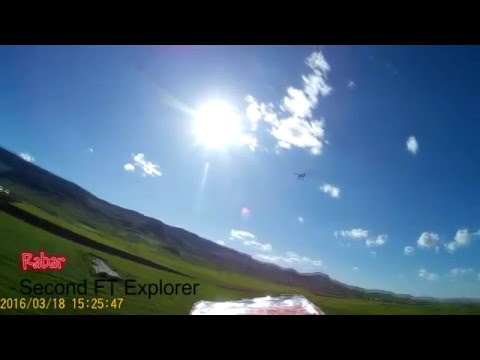 FT Explorer (Wing upgrade) and FPV test in Kurdistan 2016