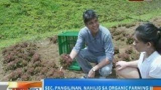 NTG: Sec. Kiko Pangilinan, nahilig sa organic farming