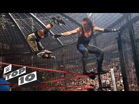 Thumbnail: Elimination Chamber Match eliminations: WWE Top 10