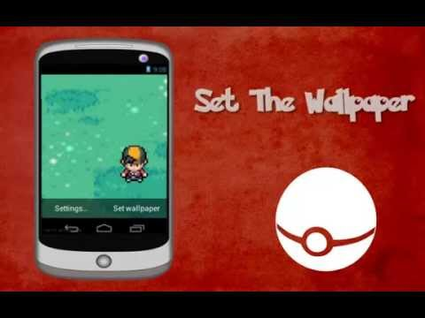 Pokemon Trainer Live Wallpaper Youtube