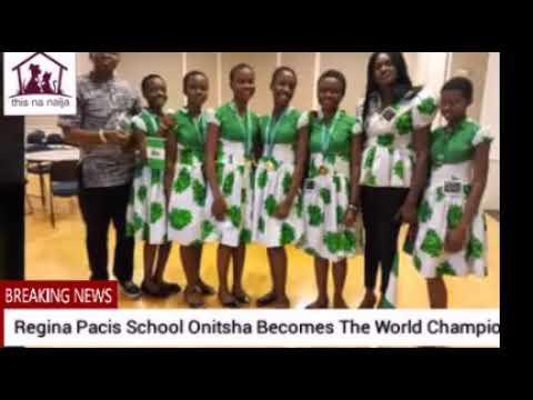 Regina Pacis School Onitsha Becomes The World Champion