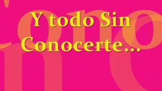 Play Sin Conocerte
