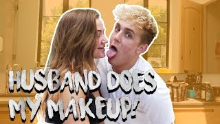 HUSBAND DOES MY MAKE UP CHALLENGE (JERIKA EDITION)