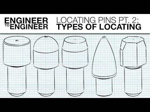 Locating Pins Pt. 2: Types of Locating | Engineer to Engineer | MISUMI USA