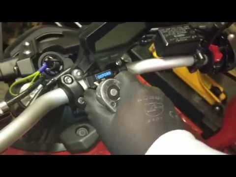 Installed With Case Mt09 Fz09 How Ram Arkon Youtube Mount To On TlF1KcJ
