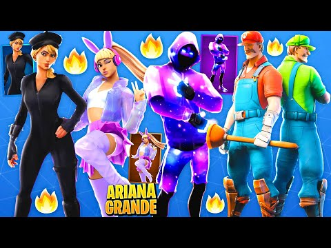 *NEW* Top 75 Fortnite Possible UPCOMING Skins Concepts..! (Ariana Grande, Christmas)