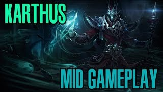 League of Legends - Karthus Mid Gameplay - WHEPA ''R'' [PT-BR]