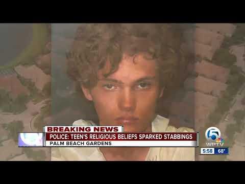 Police: Teen's religious beliefs sparked stabbings