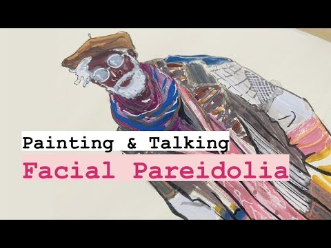Painting & Talking Facial Pareidolia || Evelyn Art
