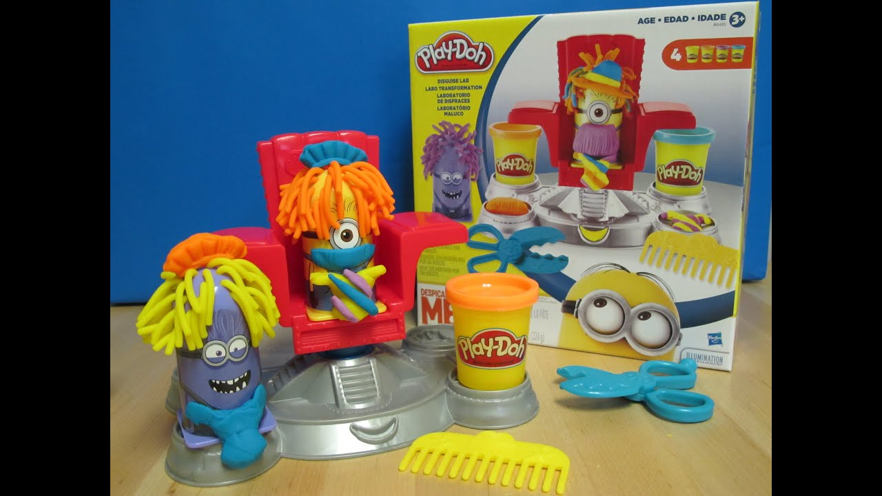 Play Doh Disguise Lab Minions B0495