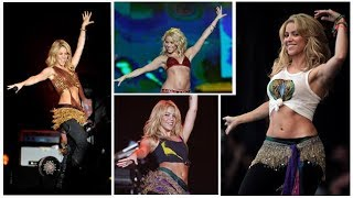 Shakira - Ojos Así remix live