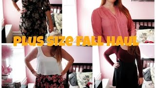 Plus Size Try On Haul | Fall 2014 | H&M, Charlotte Russe, + More! Thumbnail